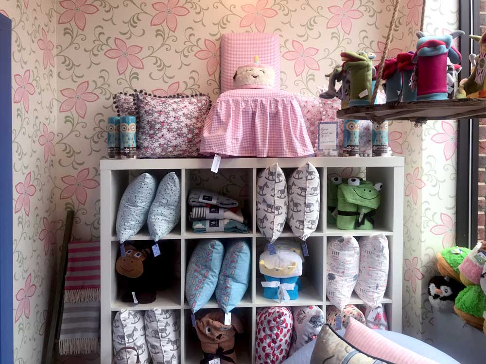 children's boutique home furnishings, clothing, toys and miscellaneous items